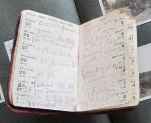 Diary entry for July 1st 1916