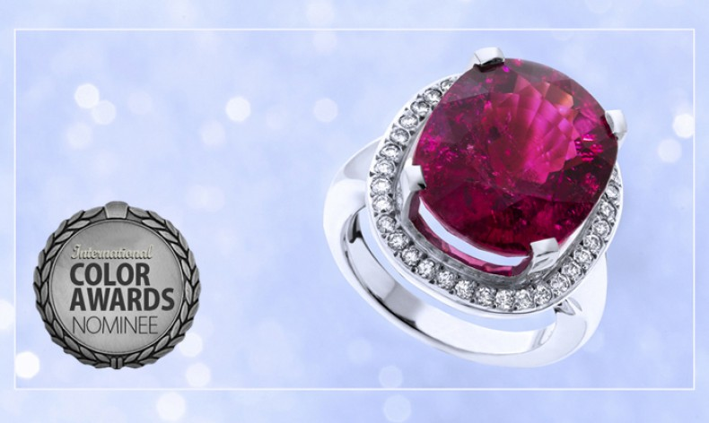 Tourmaline ring designed by Hans Newbould