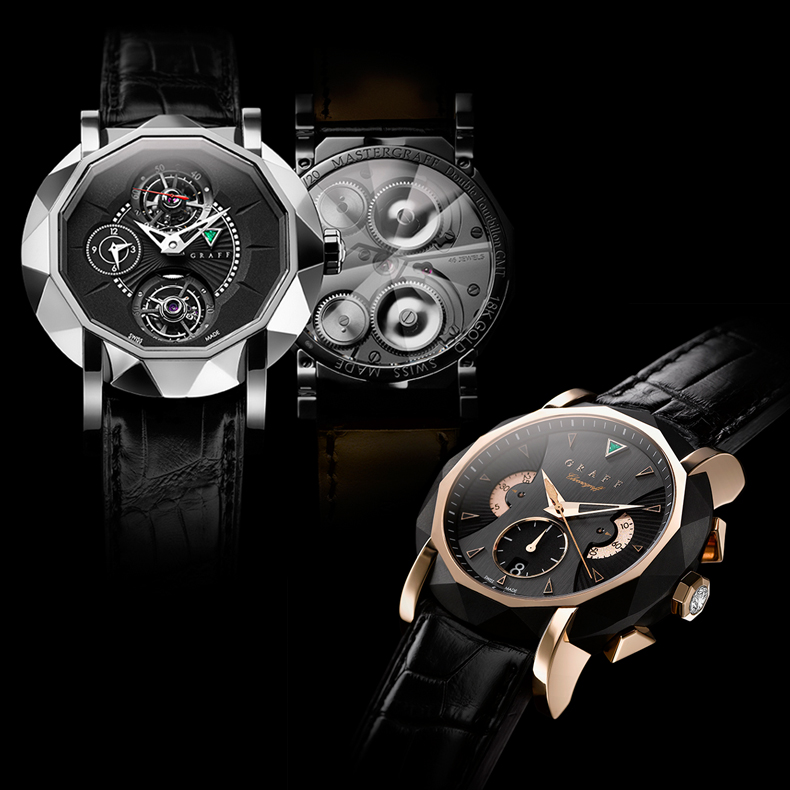 Watch photography for the Collection of fourteen time pieces